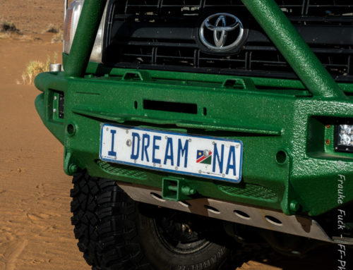 I dream Namibia – 1. Etappe
