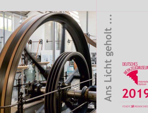 "Wandkalender  ""Ans Licht geholt . . ."" des Werkzeugmuseum Remscheid"